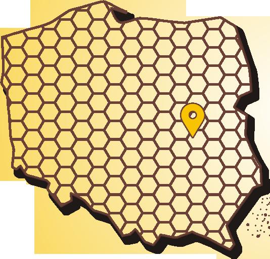 Węza Pszczela - mapa